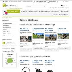 Kit vélo électrique - Cycloboost