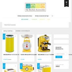Yellow Kitchen Accessories Archives - My Kitchen Accessories