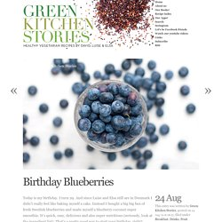 Birthday Blueberries