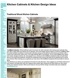 Kitchen Cabinet and Kitchen Design Ideas