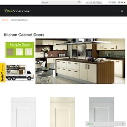 Kitchen Cabinet Doors in UK - Buy Kitchen Cabinet Doors at TopDoors