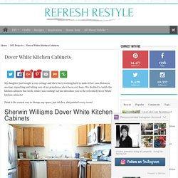Dover White Kitchen Cabinets
