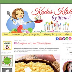 Kudos Kitchen By Renee: Cauliflower and Sweet Potato Mashers