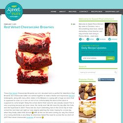 Red Velvet Cheesecake Brownies | Sweet Pea's Kitchen - StumbleUpon