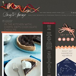 In The Kitchen With: Cheryl Day's Chocolate Chess Pie
