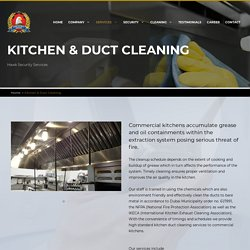 Kitchen and Duct Cleaning Service, Duct Cleaning Specialists in Dubai, UAE
