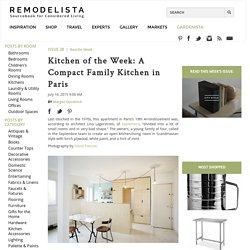 Kitchen of the Week: A Compact Family Kitchen in Paris: Remodelista