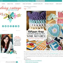 15 Free Kitchen Crochet Patterns