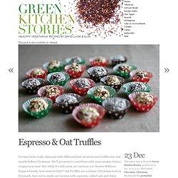 Espresso & Oat Truffles