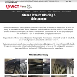 Best Kitchen Exhaust Duct And Fan Cleaning And Repair