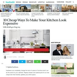 How To Make Your Kitchen Look Expensive - Cheap Kitchen Updates