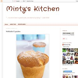 Minty's Kitchen: Hokkaido Cupcakes