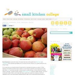 Healthy Homemade: Rosh Hashanah Farfel