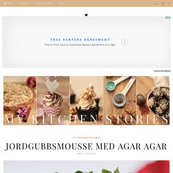 My Kitchen Stories - Jordgubbsmousse med agar agar