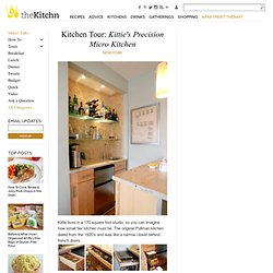 Kitchen Tour: Kittie's Precision Micro KitchenNew York | Apartment Therapy The Kitchn
