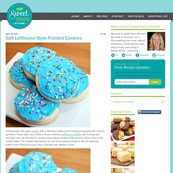 Soft Lofthouse Style Frosted Cookies | Sweet Pea's Kitchen