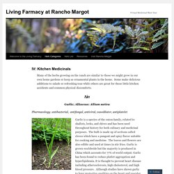 Living Farmacy at Rancho Margot