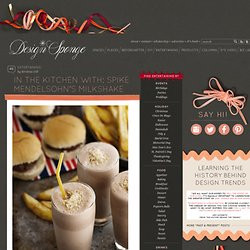 Design*Sponge » Blog Archive » in the kitchen with: spike mendelsohn's milkshake