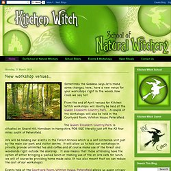 Kitchen Witch - Craft & Magick ....