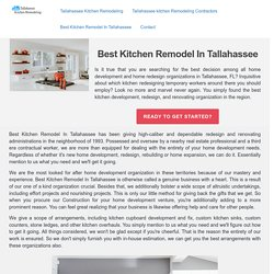 Best Kitchen Remodel In Tallahassee