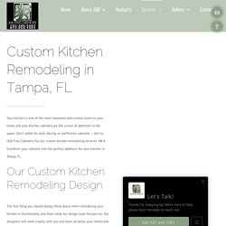 Kitchen Remodeling Services in Tampa, FL