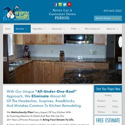 Kitchen Remodeling Services in Bowie MD