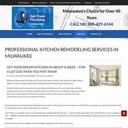 Complete Kitchen Remodel New Berlin WI