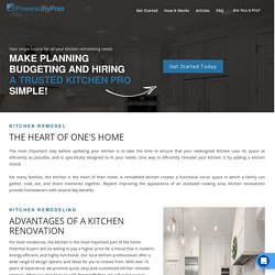Kitchen Remodeling Pros - Trusted & Local Kitchen Pros