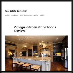 Kitchen stone hoods