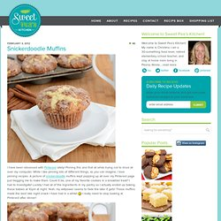 Snickerdoodle Muffins | Sweet Pea's Kitchen - StumbleUpon