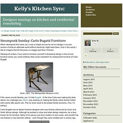 Kelly's Kitchen Sync: Steampunk Sunday: Carlo Bugatti Furniture