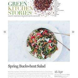 Spring Buckwheat Salad