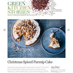 Christmas Spiced Parsnip Cake