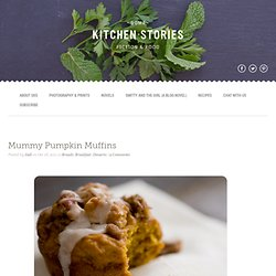 Mummy Pumpkin Muffins | Some Kitchen Stories Mummy Pumpkin Muffins | 1 Photographer. 1 Writer. This is Our Food Blog.