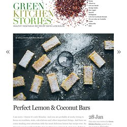 Perfect Lemon & Coconut Bars