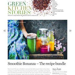 Smoothie Bonanza – The recipe bundle