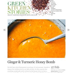 Ginger & Turmeric Honey Bomb