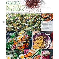 Green Kitchen Stories » The healthy vegetarian recipe blog
