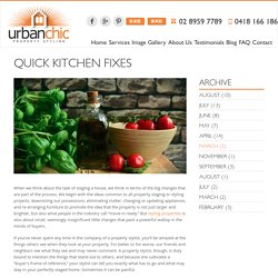 Quick Kitchen Fixes - Styling Properties
