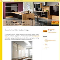 Small Kitchen Cabinet Modern wardrobe Design and Kitchen Cabinets Plywood: Choose the Best Sliding Wardrobe Designs