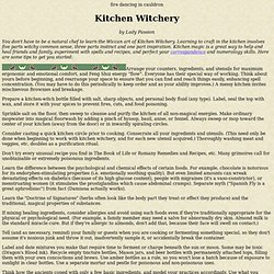 kitchen witch pearltrees - Kitchen Witchery