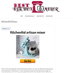 KitchenAid Artisan -