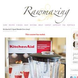 KitchenAid Blender Give Away
