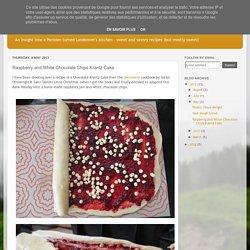 Kitchenette: Raspberry and White Chocolate Chips Krantz Cake