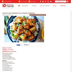 KitchenTrotter - Poulet aux oranges à la façon chinoise