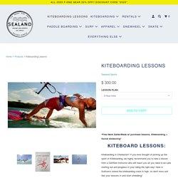Kiteboarding Lessons - Sealand Adventure Sports