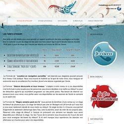 NKS - Stage de Kitesurf - Les Tarifs KiteSurf - Quiberon & Guidel