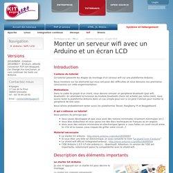 Montage Arduino / Wifi / LCD