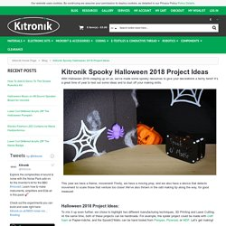 Kitronik Spooky Halloween 2018 Project Ideas