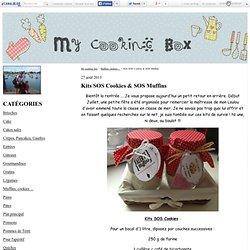 Kits SOS Cookies & SOS Muffins - My cooking box